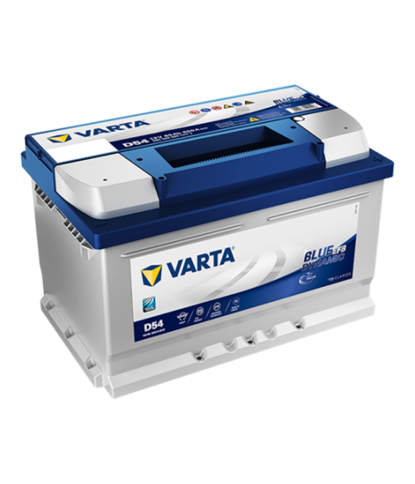 Varta Auto accu 12 volt 65 Ah EFB Blue Dynamic type D54