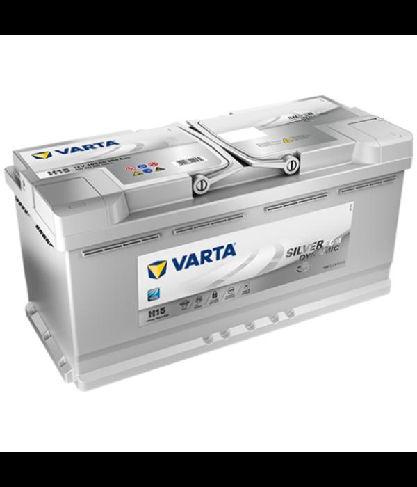 Varta Auto accu 12 volt 105 Ah Silver Dynamic AGM type H15