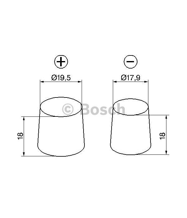 Bosch Accu EFB start-stop 12 volt 85 ah Type S4 E42