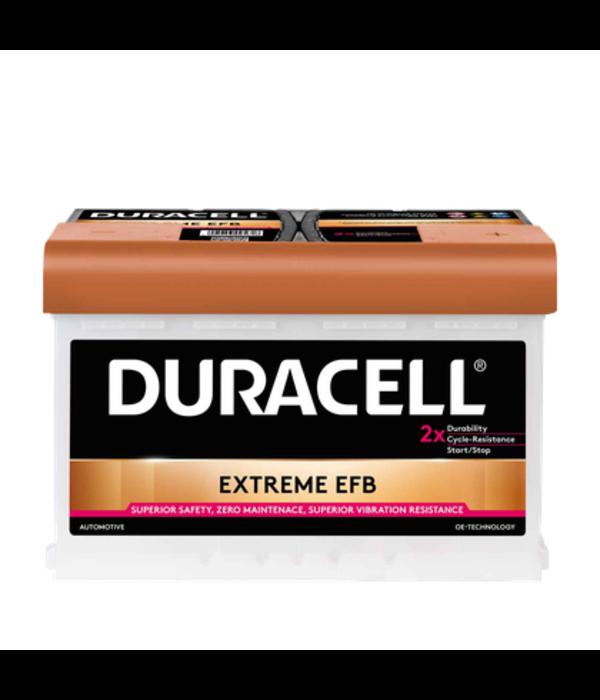 Duracell EFB accu 12 volt 70 ah BDE 70