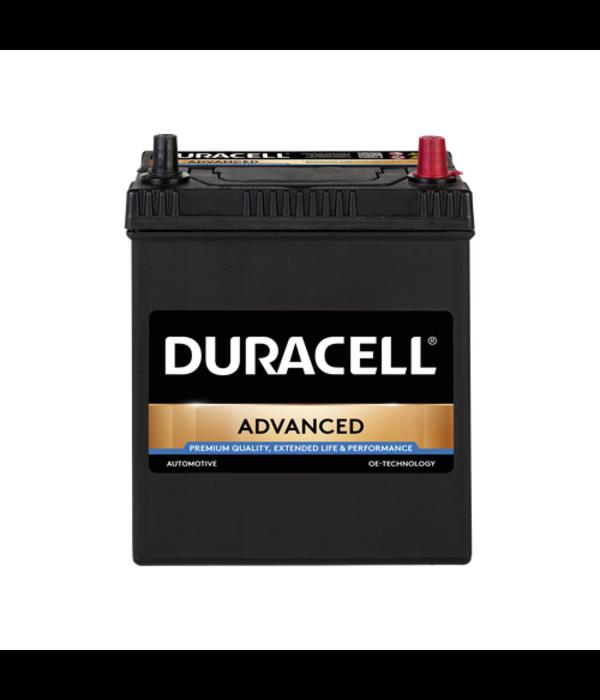 Duracell 12 volt 40 ah Auto accu BDA 40