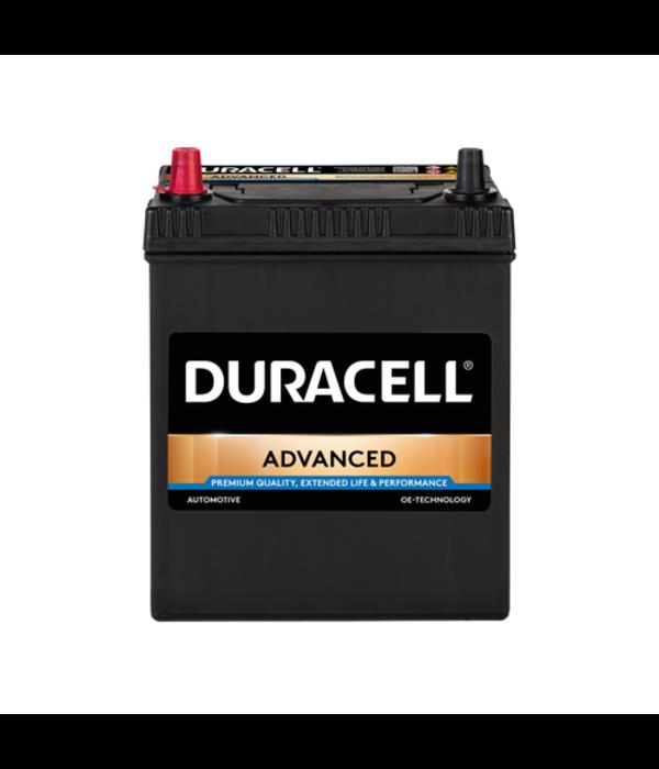 Duracell 12 volt 40 ah Auto accu BDA 40L