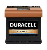 Duracell 12 volt 50 ah Auto accu BDA 50