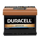 Duracell 12 volt 60 ah Auto accu BDA 60T