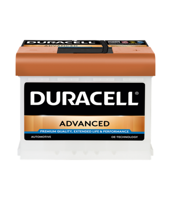 Duracell 12 volt 63 ah Auto accu BDA 63H