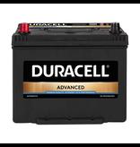 Duracell 12 volt 70 ah Auto accu BDA 70L