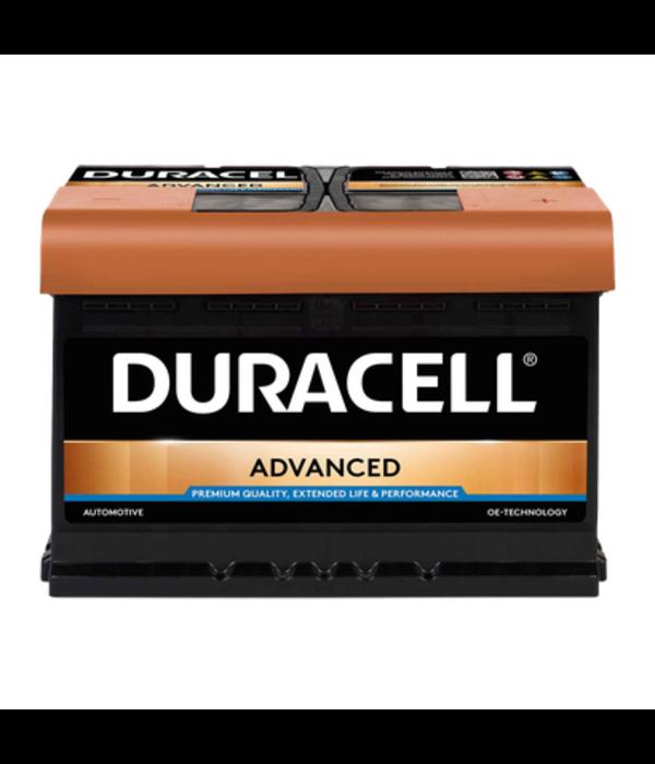 Duracell 12 volt 74 ah Auto accu BDA 74