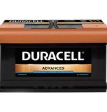 Duracell 12 volt 80 ah Auto accu BDA 80