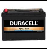 Duracell 12 volt 95 ah Auto accu BDA 95L