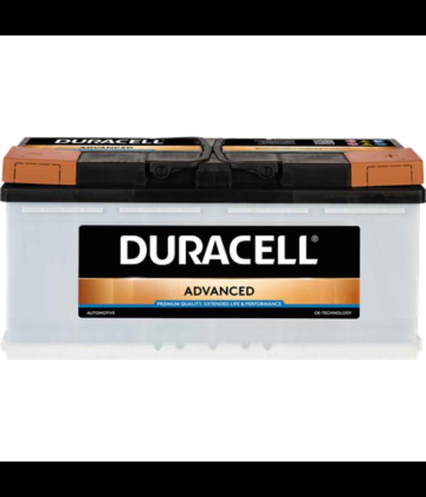 Duracell 12 volt 110 ah Auto accu BDA110