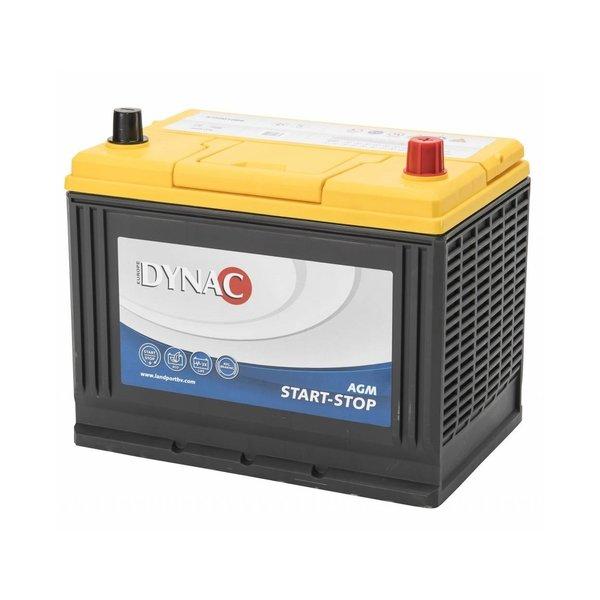 Auto accu AGM start-stop 12 volt 75 ah