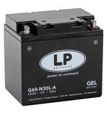 G60-N30L-A motor GEL accu 12 volt 30,0 ah