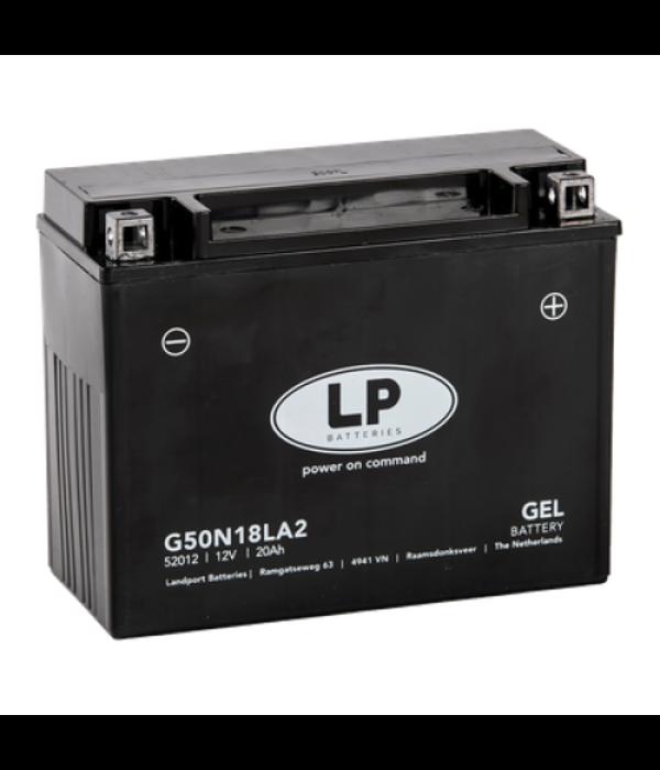 G50N18LA2 motor GEL accu 12 volt 20,0 ah