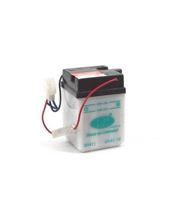 6N4C-1B motor accu 6 volt 4,0 ah