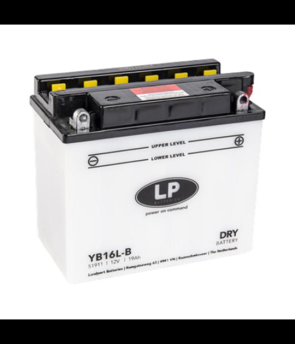 YB16L-B motor accu 12 volt 19,0 ah