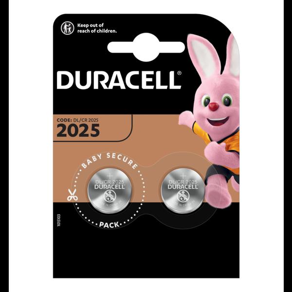Knoopcel batterij CR2025 blister 2