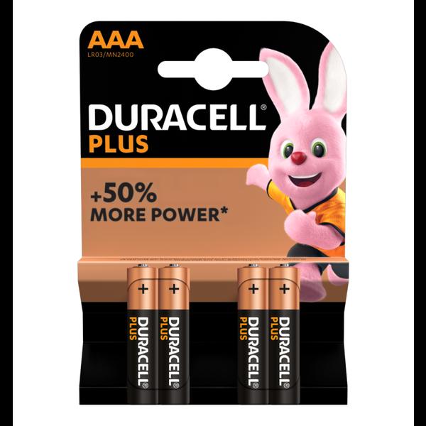 Batterij Plus Power AAA blister 4