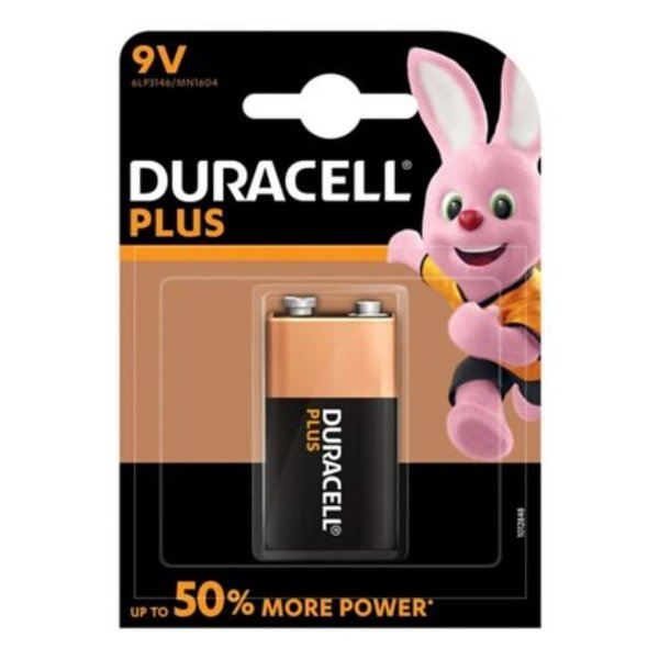 Batterij Plus Power Duralock 9v blister 1