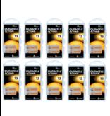 Duracell Hoorapparaat batterij DA13 oranje (60 stuks)