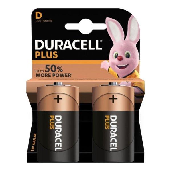 Batterij Plus Power D blister 2