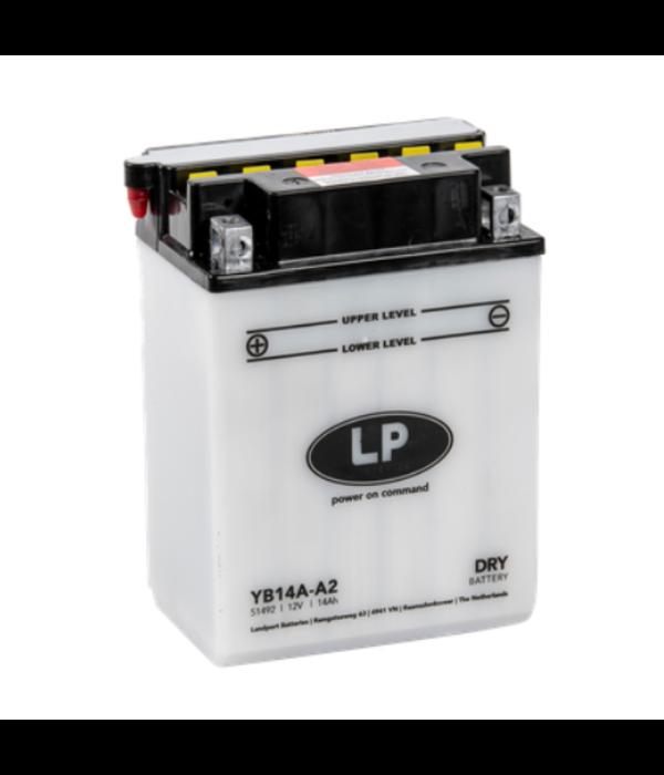 YB14A-A2 motor accu 12 volt 14,0 ah