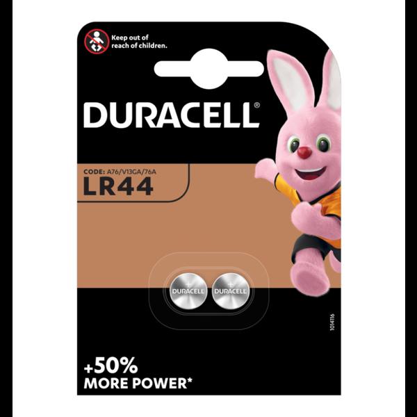 Knoopcel batterij LR 44 blister 2