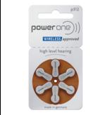 PowerOne Hoorapparaat batterij P312 bruin (60 stuks)
