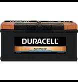 Duracell 12 volt 100 ah Auto accu BDA 100
