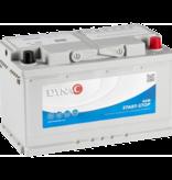 Dynac Auto accu AGM 12 volt 80 ah start - stop
