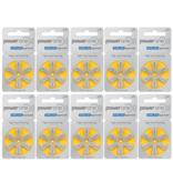 PowerOne Hoorapparaat batterij P10 geel (60 stuks)