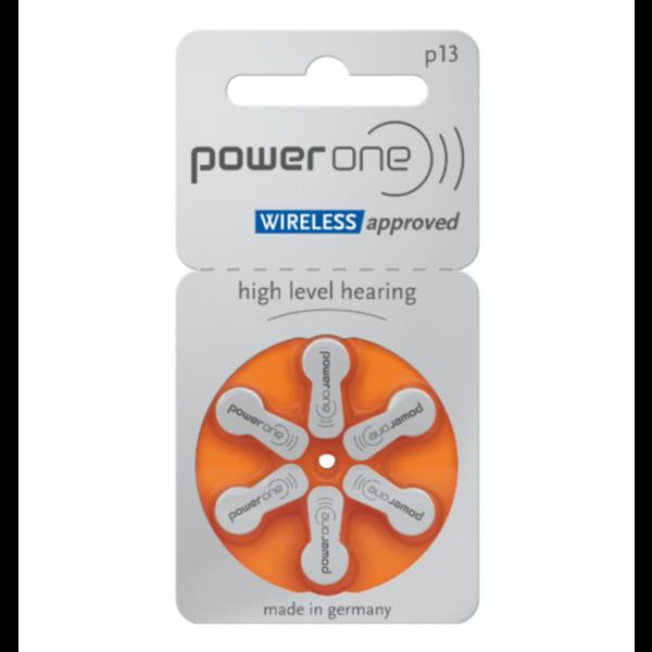 Hoorapparaat batterij P13 oranje (6 stuks)