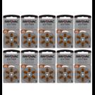 Rayovac Hoorapparaat batterij 312AU bruin (60 stuks)