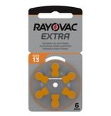 Rayovac Hoorapparaat batterij 13AU oranje (6 stuks)