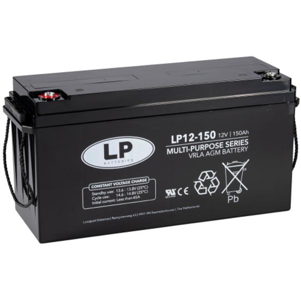 AGM 12-150 VRLA-LP accu 12 volt 150 ah