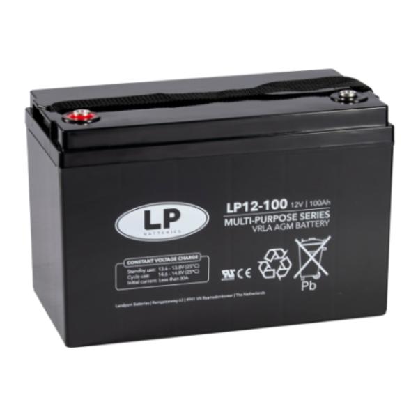 AGM 12-100 VRLA-LP accu 12 volt 100 ah