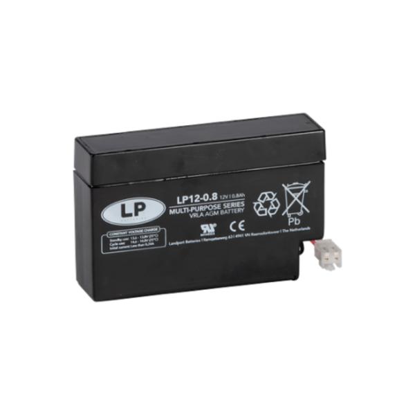 VRLA-LP accu 12 volt 0,8 ah LP12-0 8