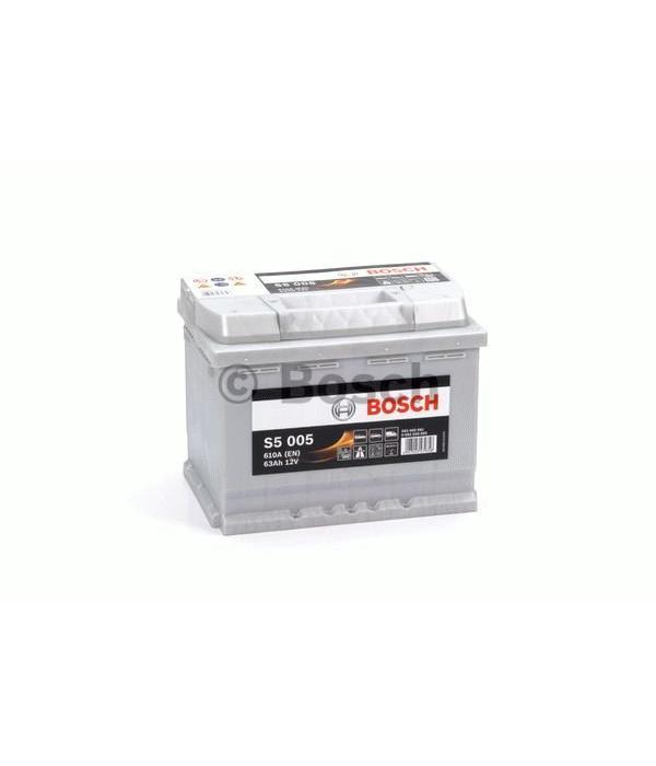 Bosch Auto accu 12 volt 63 ah Type S5 005