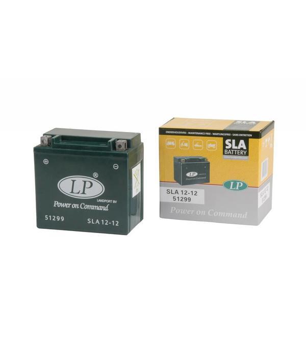 SLA 12-12 Motor accu 12 volt 12,0 ah