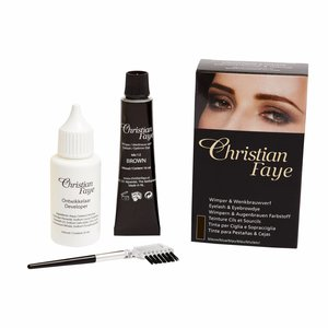 CHRISTIAN FAYE Eyelash and Eyebrow Dye - BrownBlack