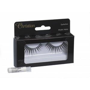 CHRISTIAN FAYE Fake Eyelashes with glue - Adela