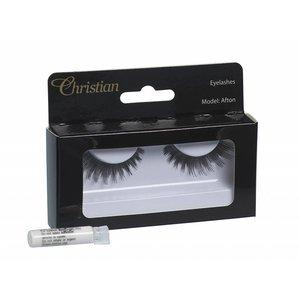 CHRISTIAN FAYE Fake Eyelashes with glue - Afton