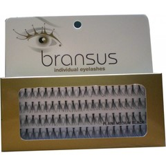 BRANSUS Eyelashes seperate Medium Black