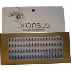 BRANSUS Eyelashes seperate Trim Black