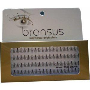 BRANSUS Eyelashes pezzi Trim Brown