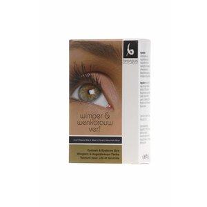 BRANSUS Wimpern / Augenbrauenfarbe Black