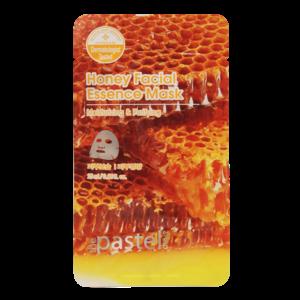 The Pastel Shop Maschera all'essenza facciale al miele, 25 ml di volume attivo