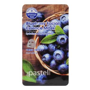 The Pastel Shop Blauwe bessen Facial Essence Mask, 25ml actieve vloeistof