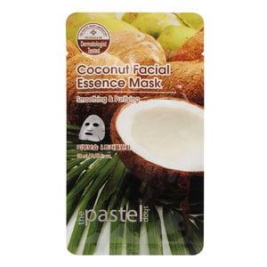 The Pastel Shop Maschera all'essenza facciale al la noce di coco, 25 ml di volume attivo
