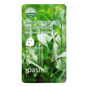 The Pastel Shop Groene Thee Facial Essence Mask, 25ml actieve vloeistof
