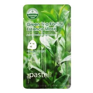 The Pastel Shop Maschera all'essenza facciale al tè verde, 25 ml di volume attivo